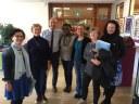 Elia Matias- STU President visits ICTP